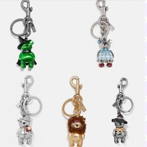 Coach Wizard of Oz Keychains Fobs Collectible